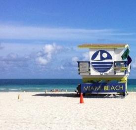 De 0 à 30° : Miami Beach
