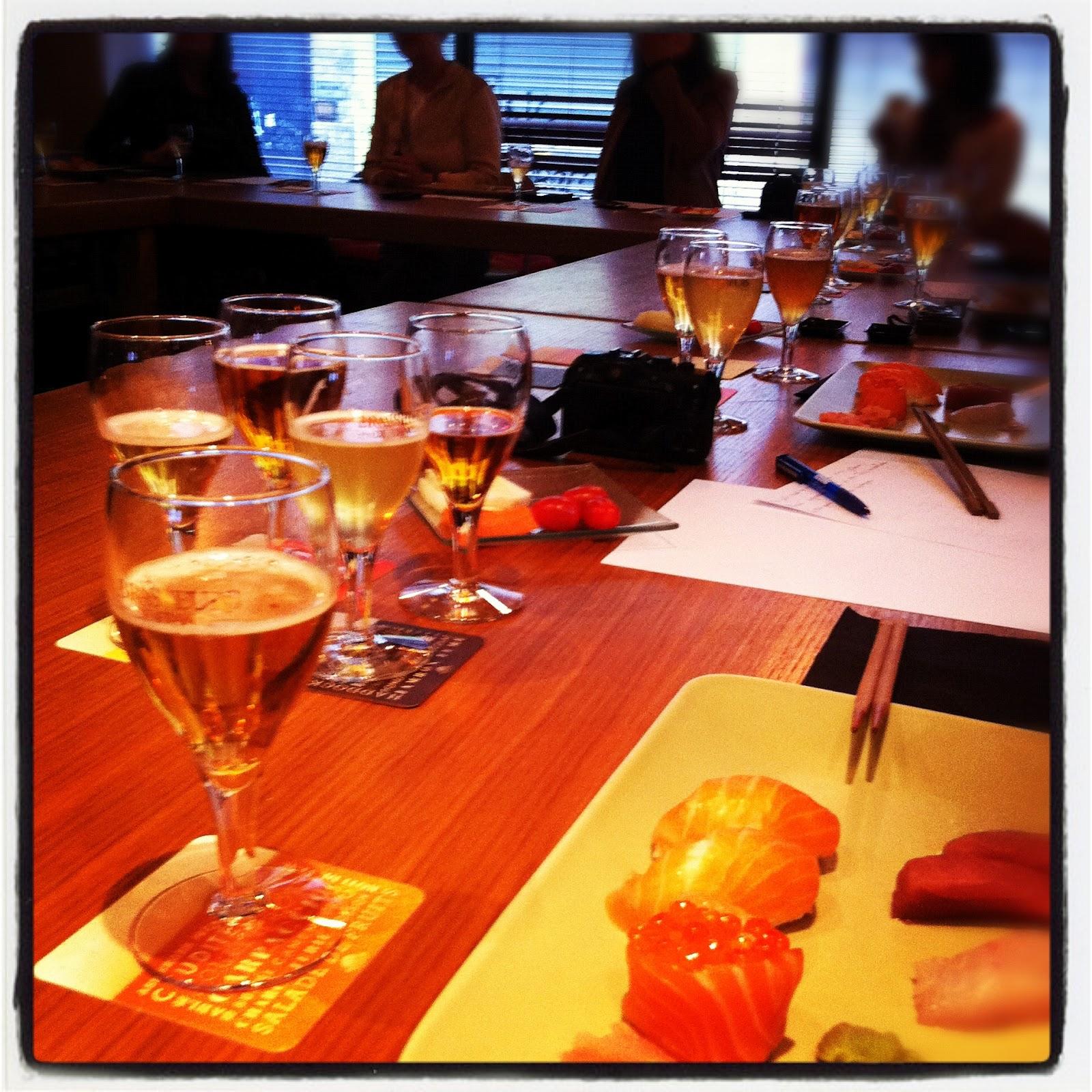 Brasseurs de France nous présente le mariage bière/sushis