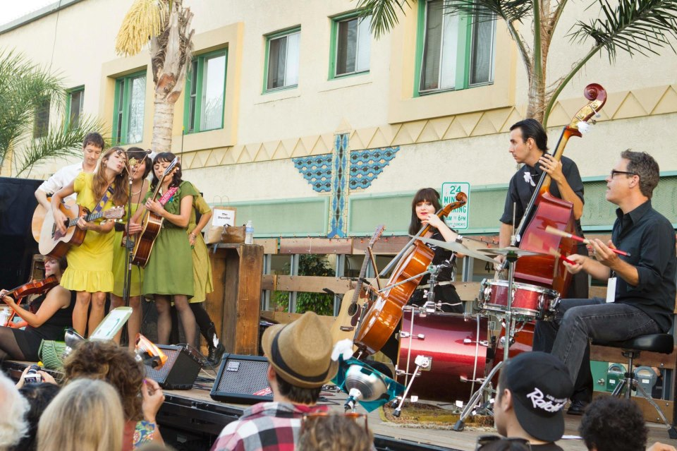 Intermède musical à Long Beach