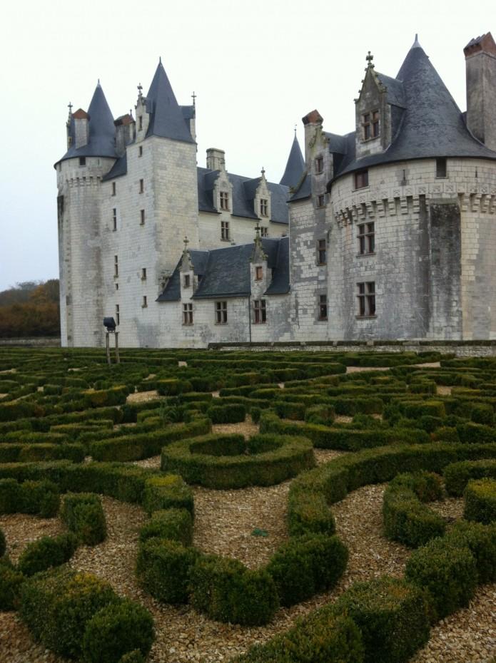 Les jardins à la française du château