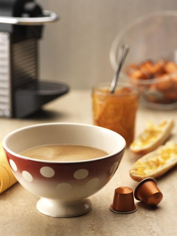 Petit déjeuner Nespresso Linizio Lungo