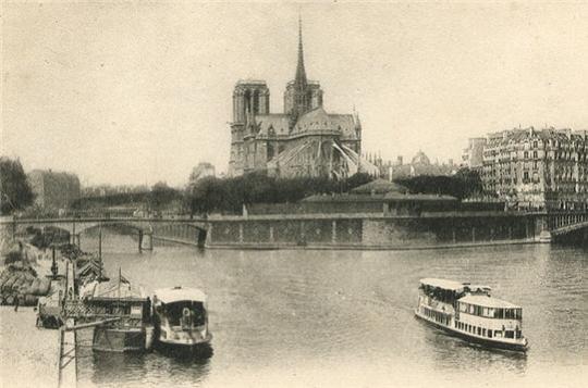 Paris quand la vie était en noir et blanc