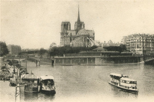 Paris when life was in black and white
