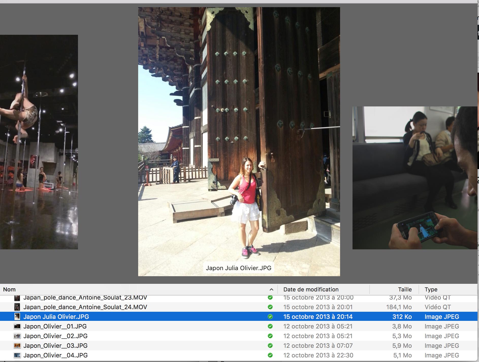 (Français) Comment j'organiser facilement mes photos de voyage sur Mac OSX